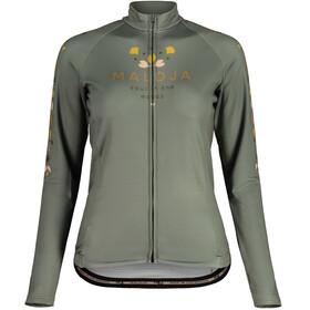 Maloja RubinieM. 1/1 Long Sleeve Bike Jersey Women, verde